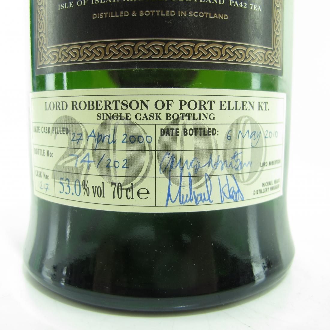 Ardbeg 2000 Lord Robertson Single Cask #1217