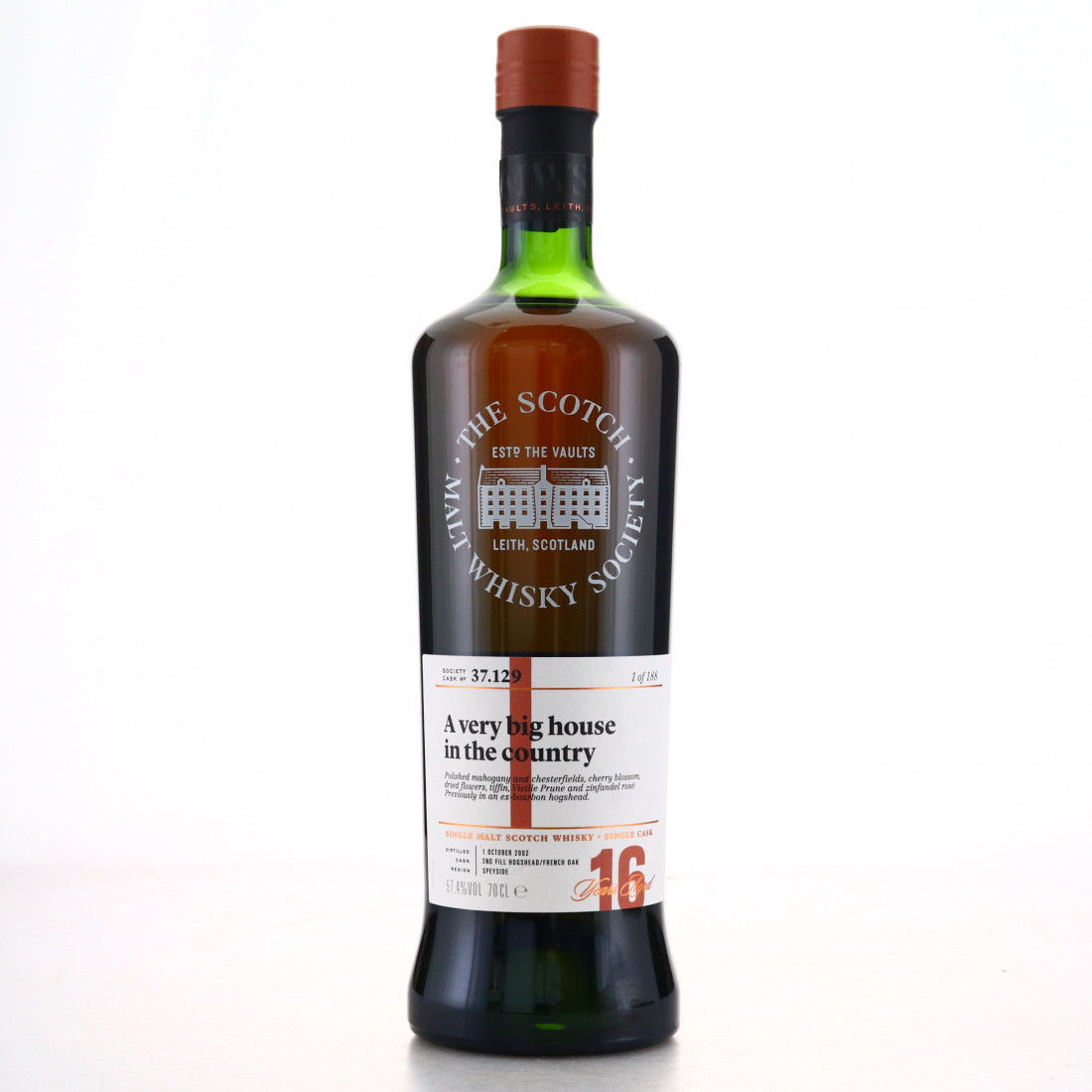 Cragganmore 2002 SMWS 16 Year Old 37.129