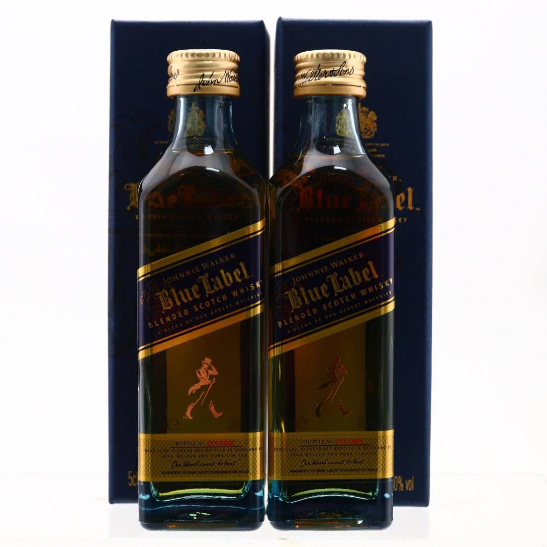 Johnnie Walker Blue Label Miniature x 2