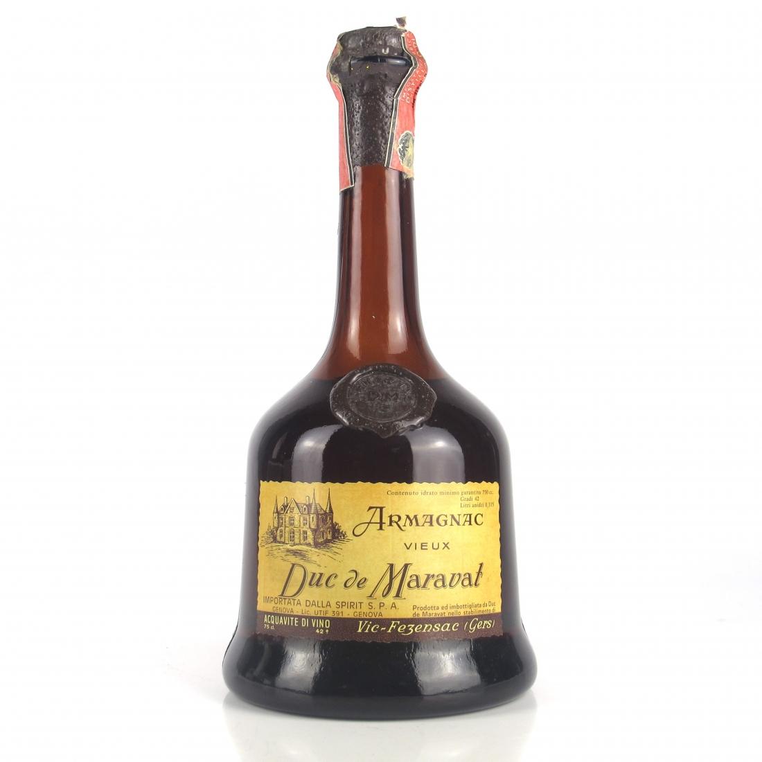 Duc de Maravat Vieux Armagnac 1970s