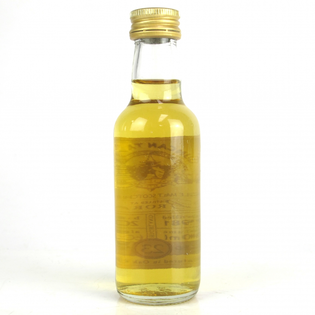 Brora 1981 Duncan Taylor 23 Year Old 5cl Miniature