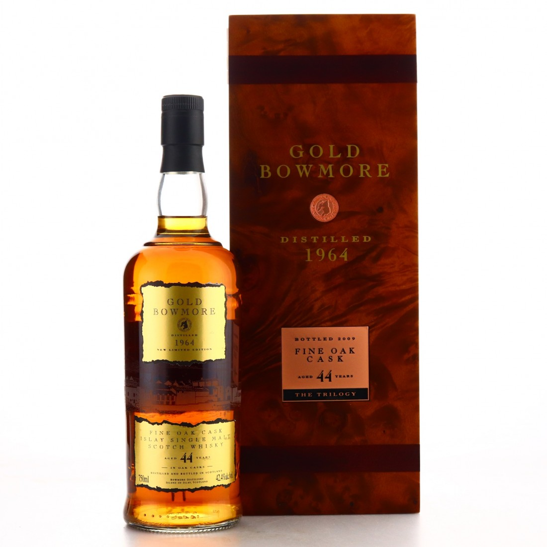Bowmore 1964 Gold Bowmore 44 Year Old 75cl / US Import
