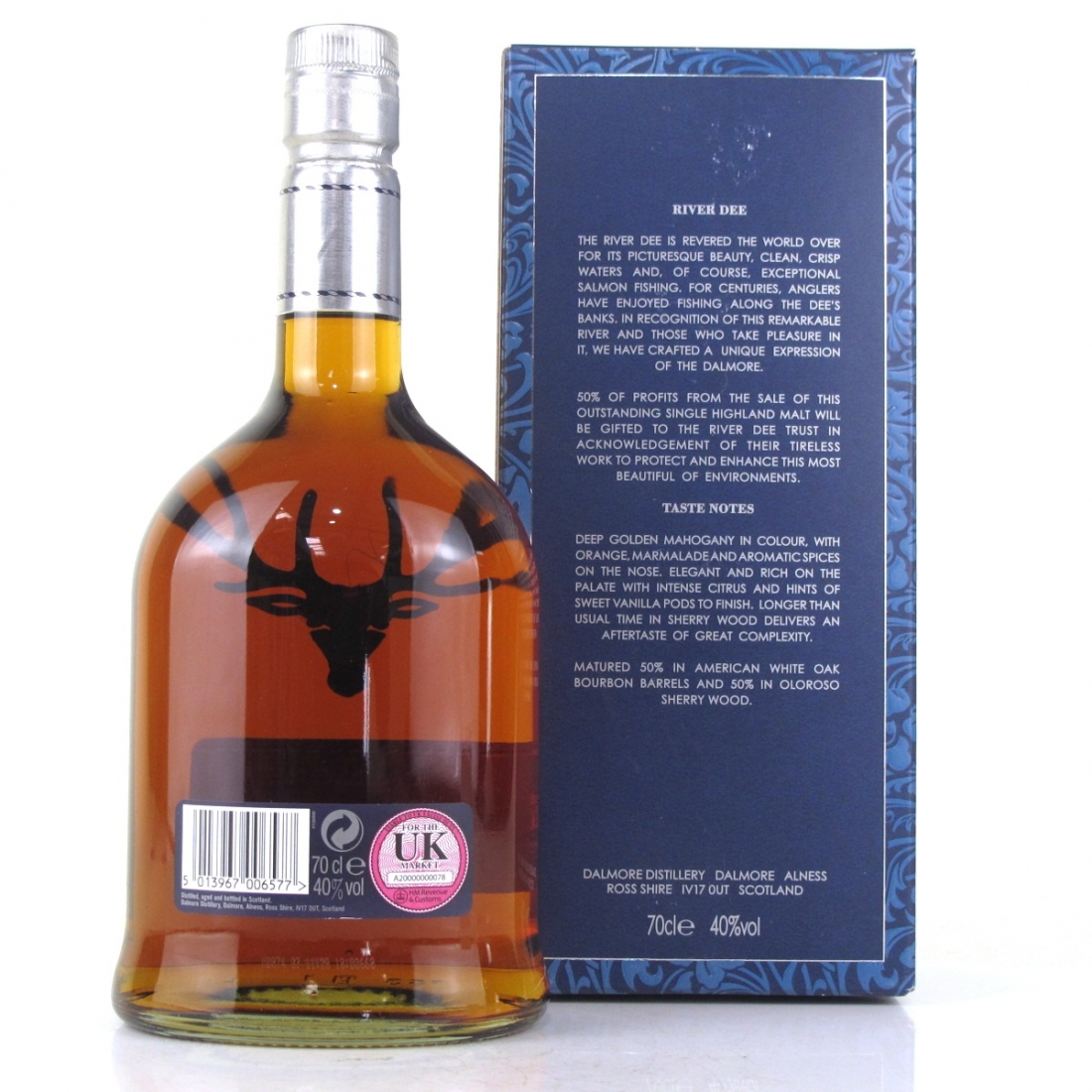 Dalmore 12 Year Old Dee Dram 2010 / First Edition