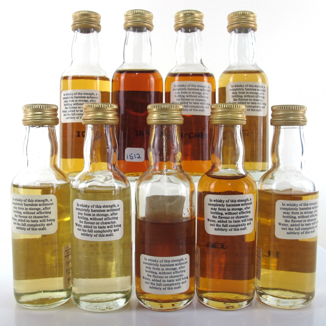 Gordon MacPhail Cask Strength Miniature Selection 9 x 5cl
