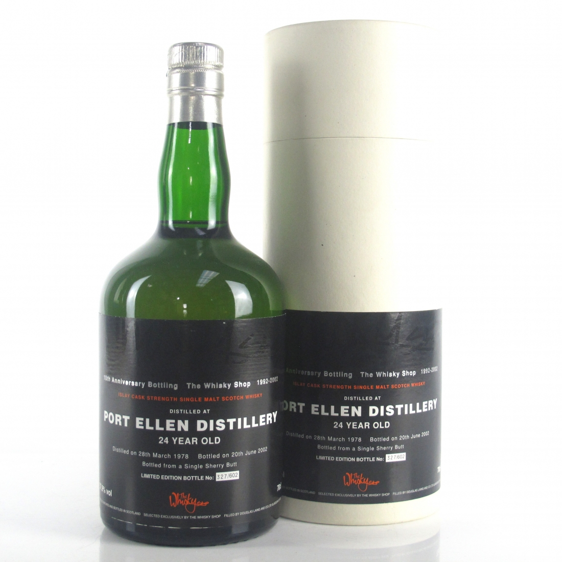 Port Ellen 1978 Whisky Shop 24 Year Old