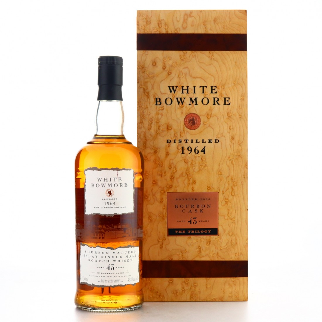 Bowmore 1964 White Bowmore 43 Year Old 75cl / US Import