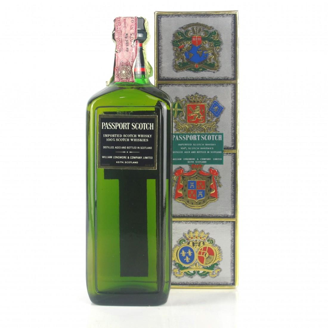 Passport Scotch Whisky 1970s / Ramazzotti Import