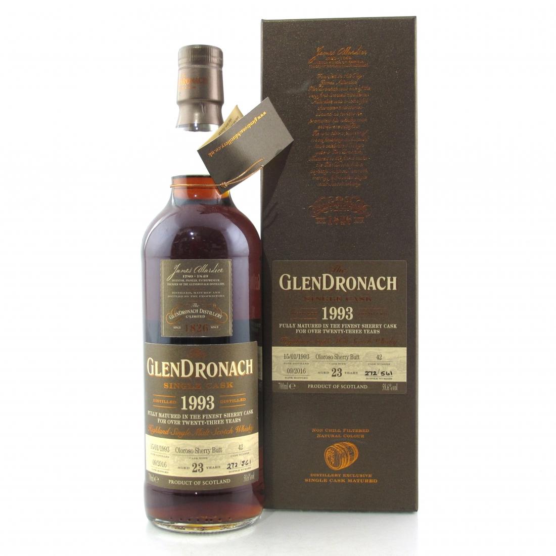 Glendronach 1993 Single Cask 23 Year Old #42