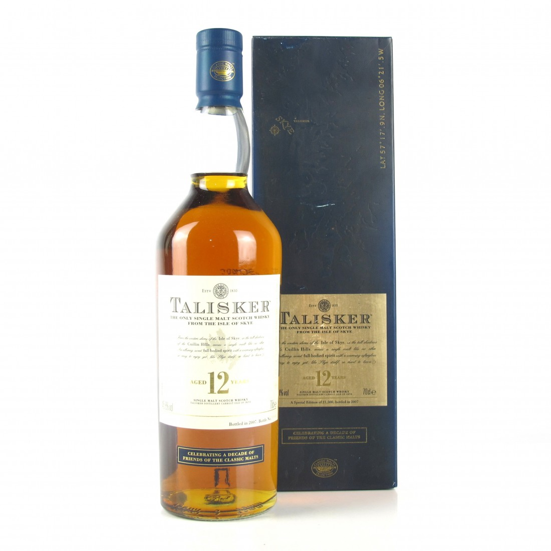 Talisker 12 Year Old A Decade of the Friends of the Classic Malts