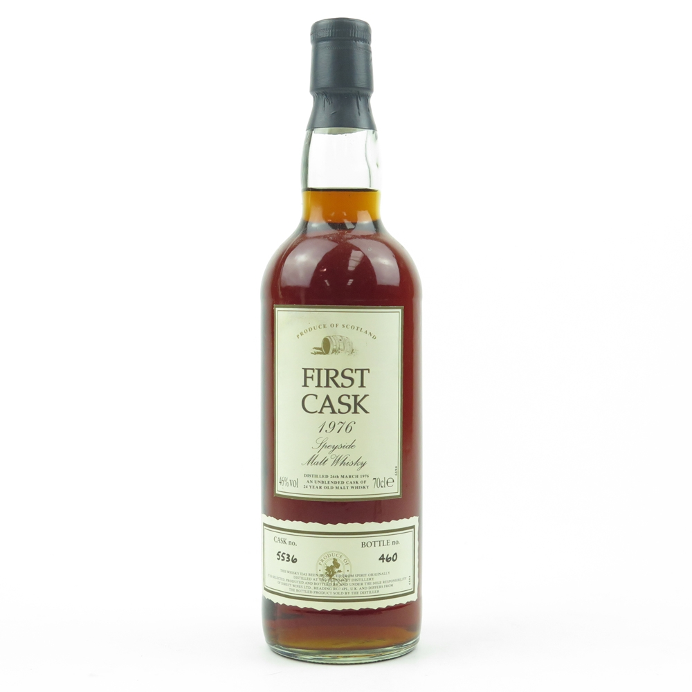 Glen Grant 1976 First Cask 24 Year Old