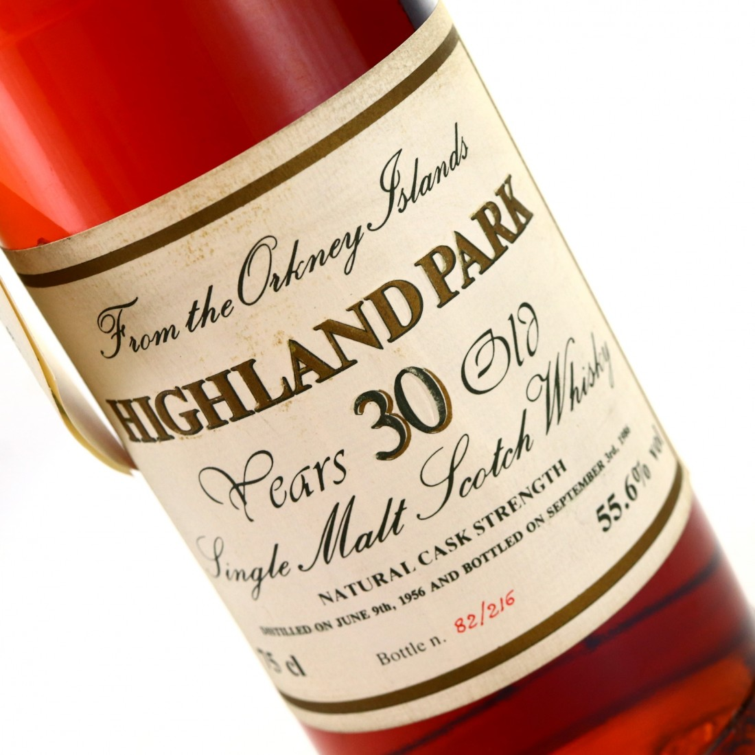 Highland Park 1956 Intertrade 30 Year Old Cask Strength