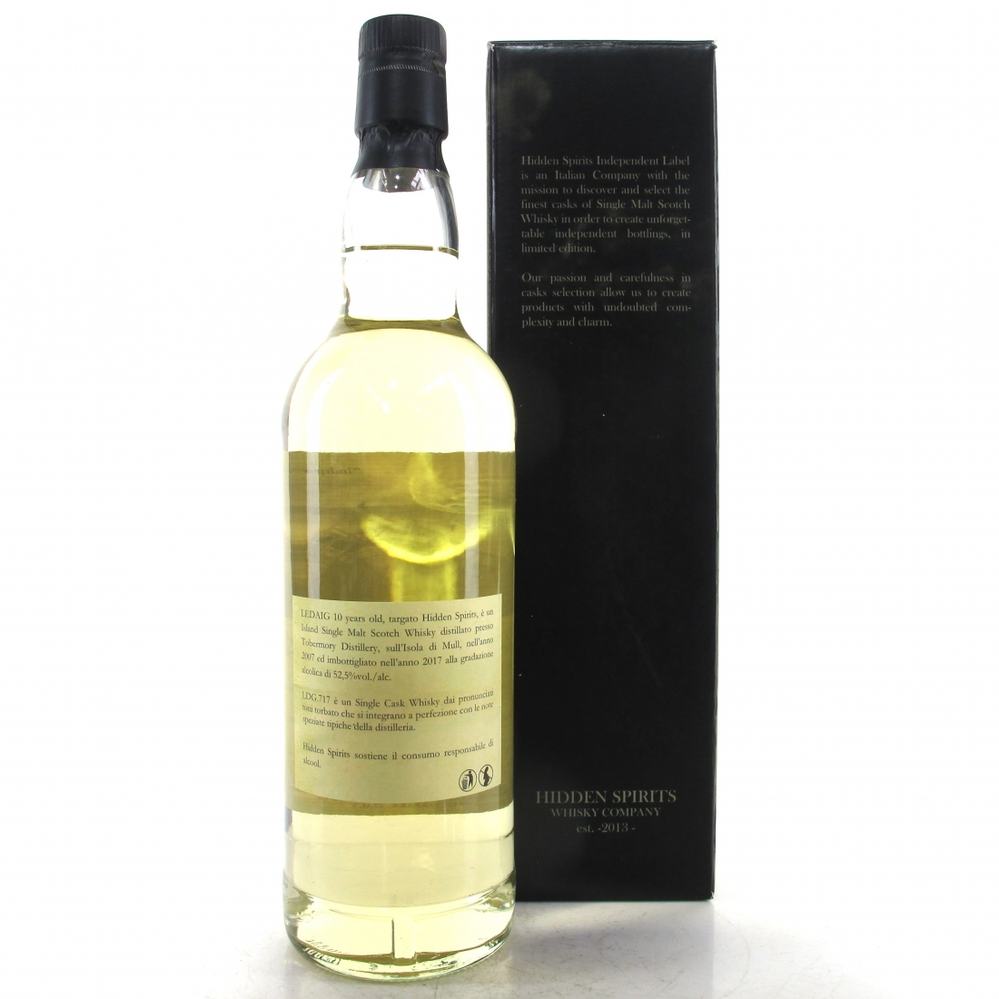 Ledaig 2007 Hidden Spirits 10 Year Old Single Cask