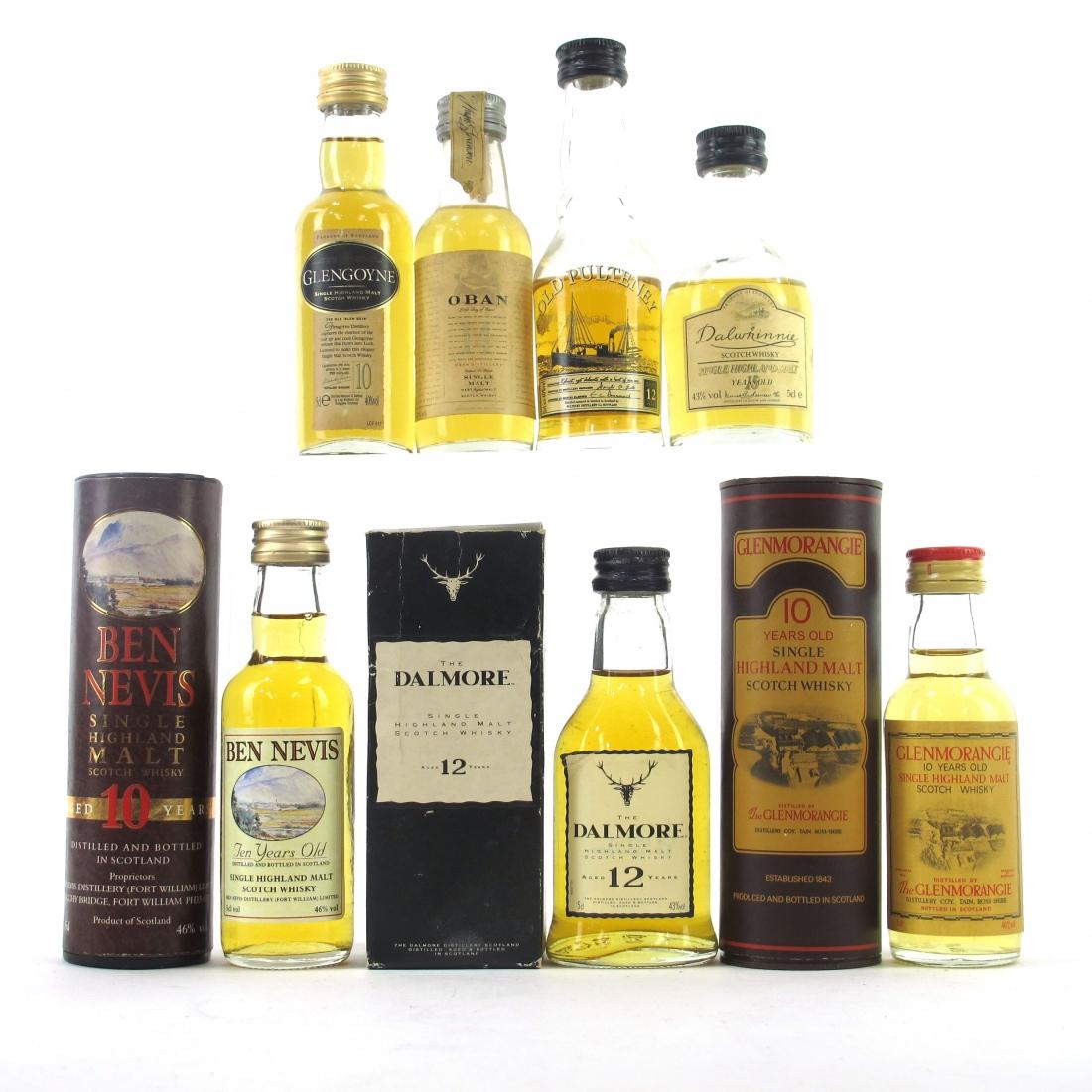 Highland Miniature Selection x 7