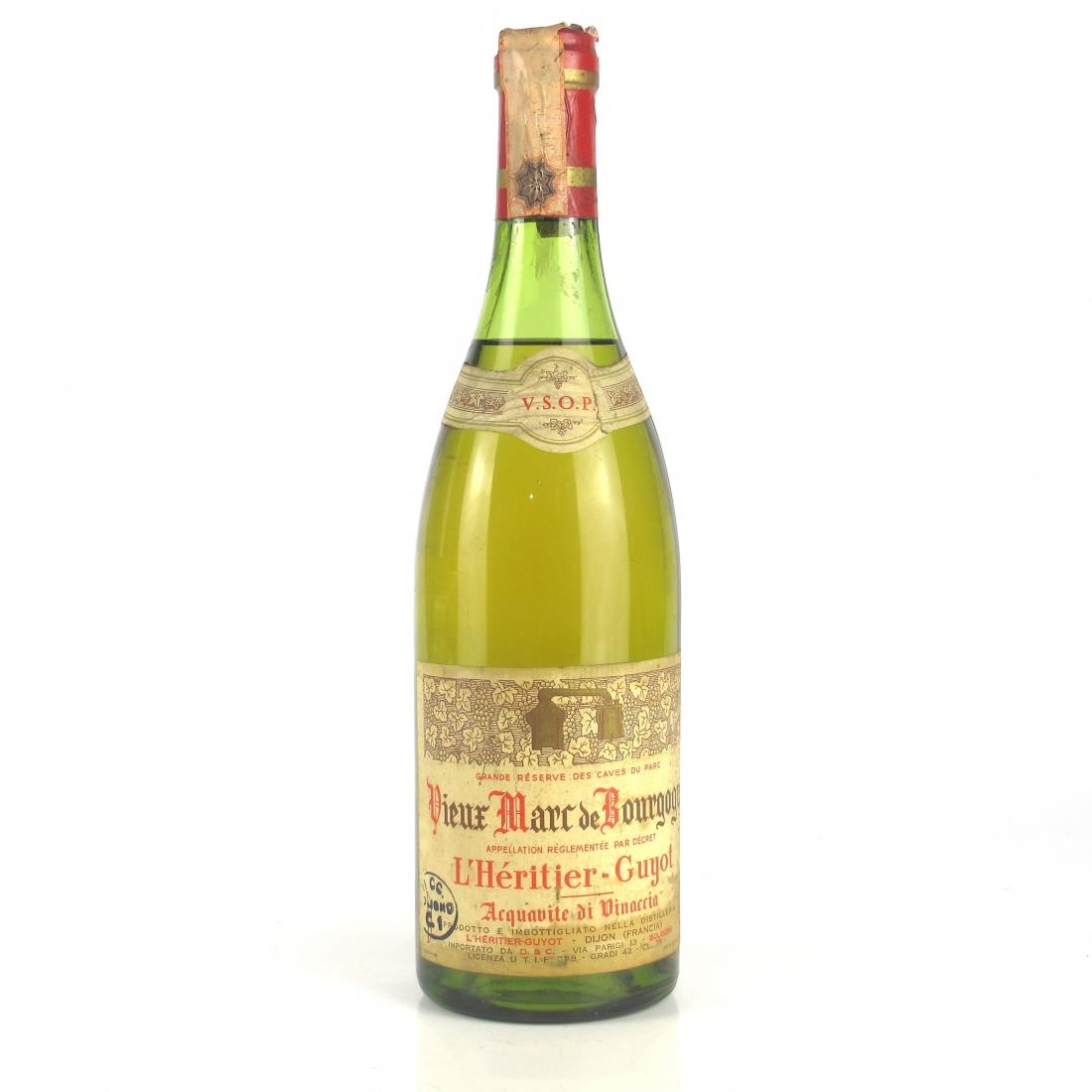 Vieux Marc de Bourgogne VSOP Brandy 1960s