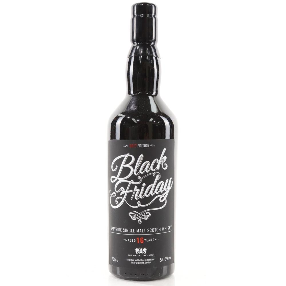 Black Friday 16 Year Old Elixir Distillers Speyside Single Malt