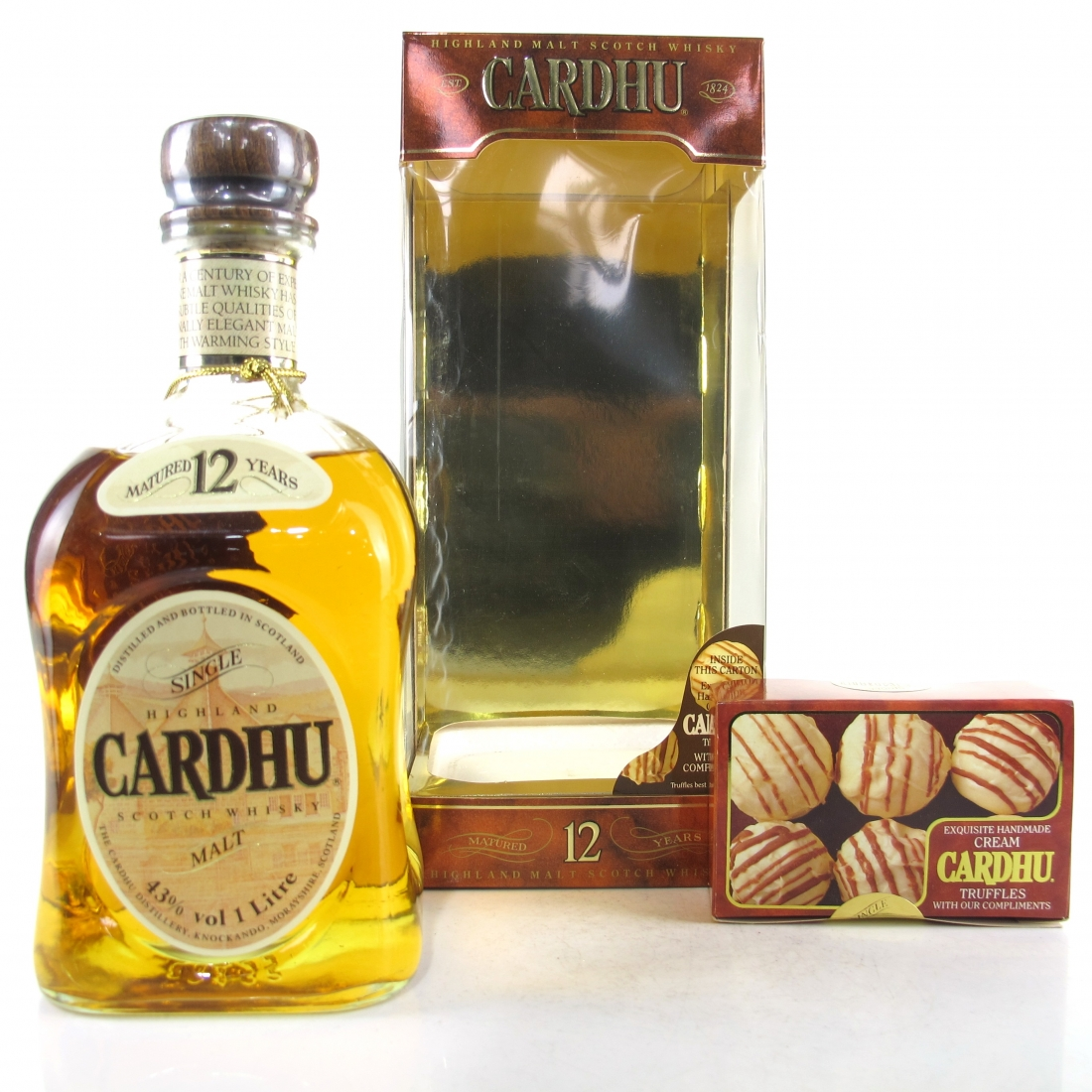 Cardhu 12 Year Old 1980s 1 Litre / Including Truffles