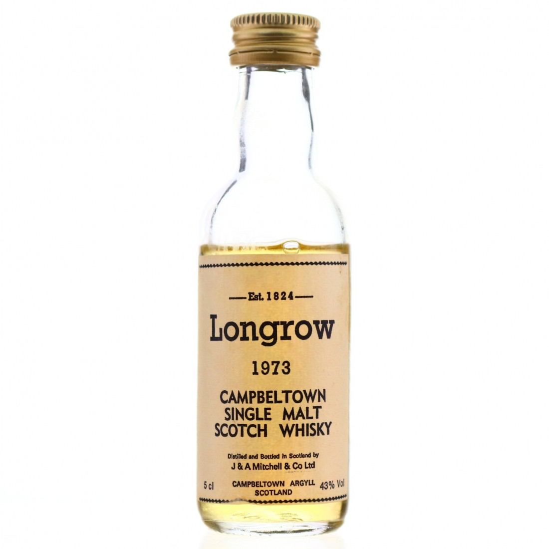 Longrow 1973 Miniature