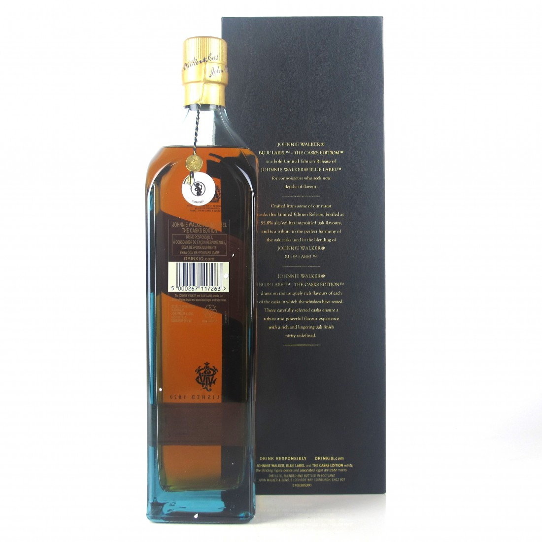 Johnnie Walker Blue Label Casks Edition