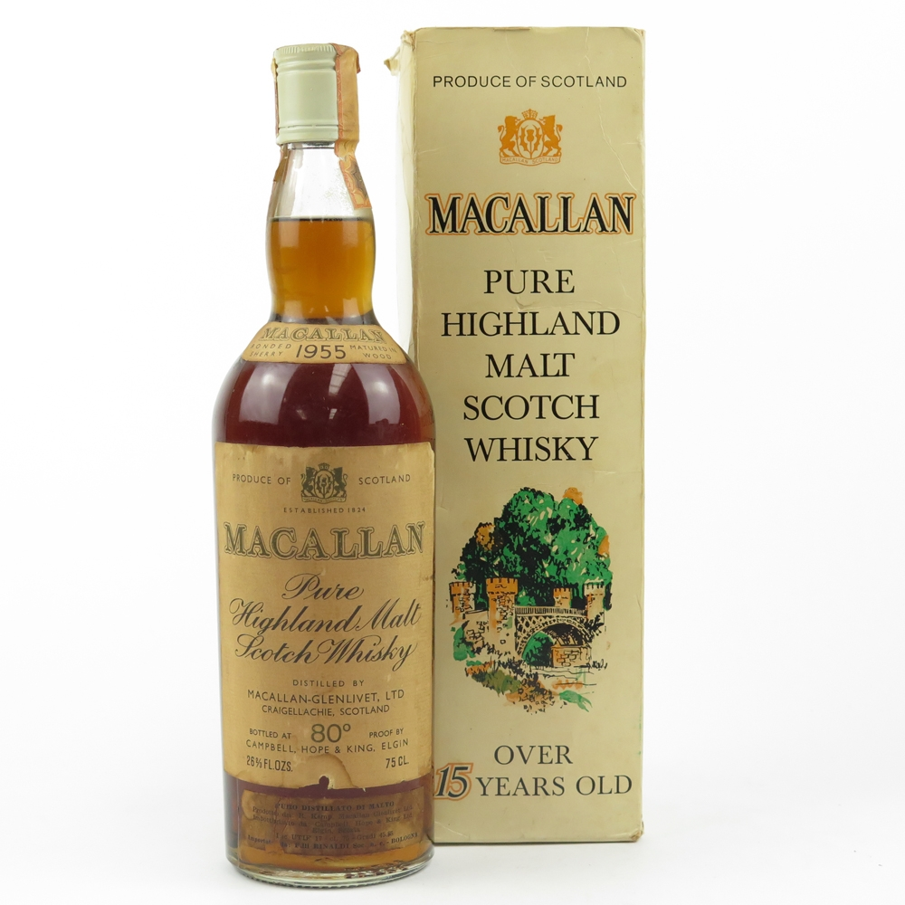 Macallan 1955 15 Year Old / Campbell, Hope and King
