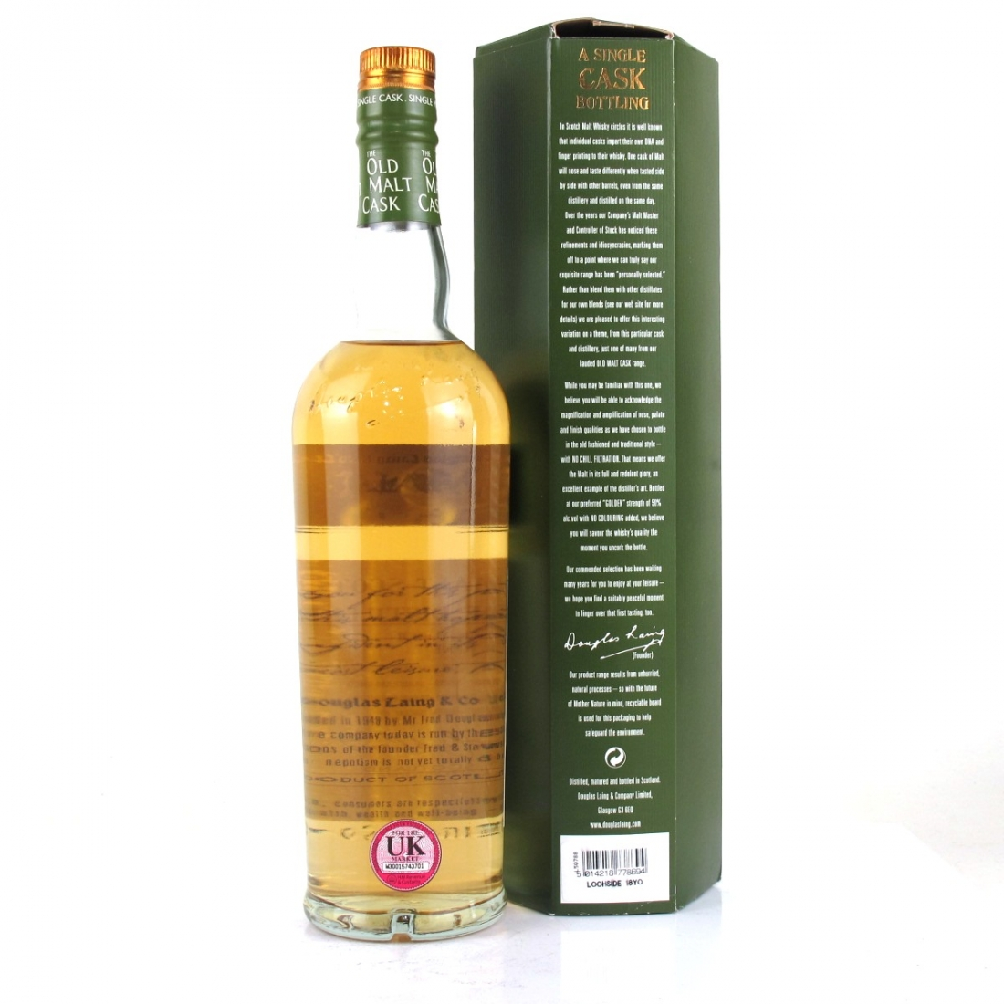 Lochside 1991 Douglas Laing 18 Year Old