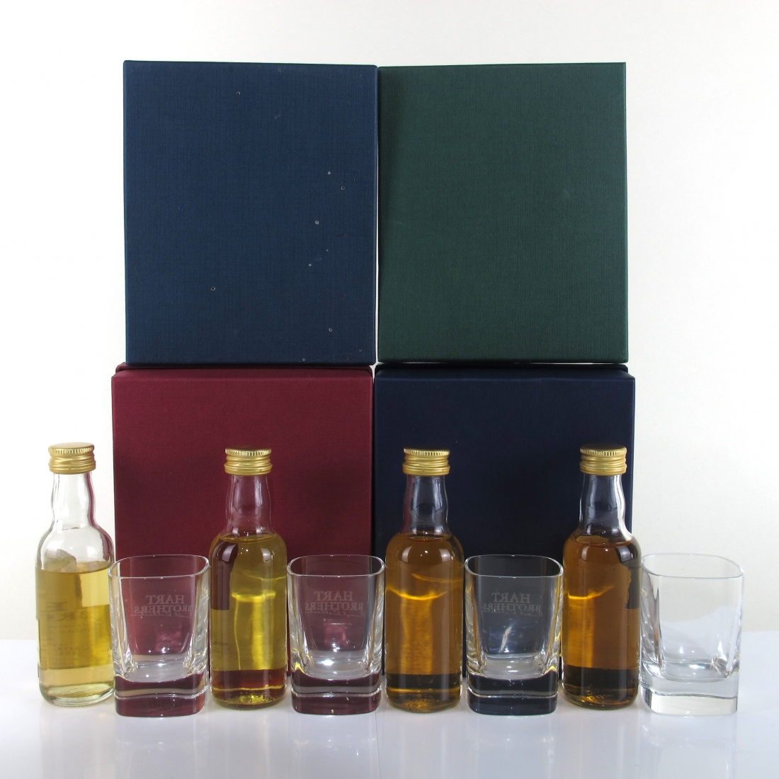 Hart Brothers Miniature Gift Pack Selection 4 x 5cl
