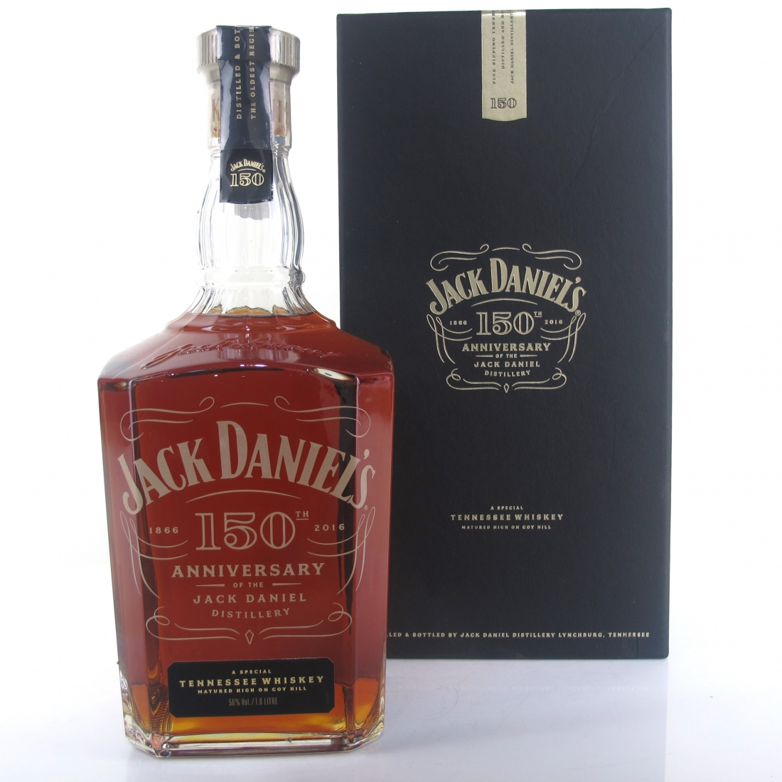Jack Daniel's 150th Anniversary Cask Strength 1 Litre