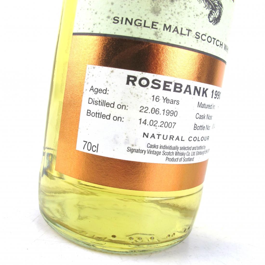 Rosebank 1990 Signatory Vintage 16 Year Old