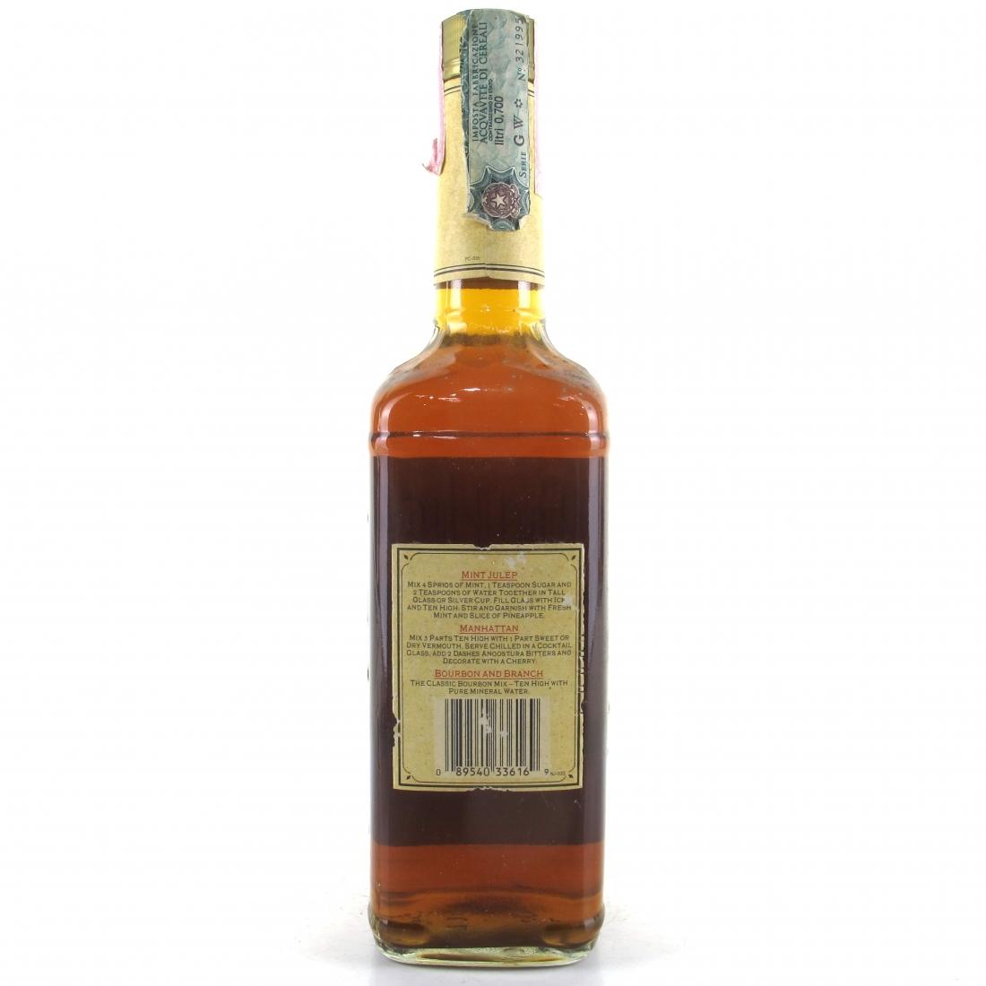 Ten High Kentucky Straight Bourbon Whiskey