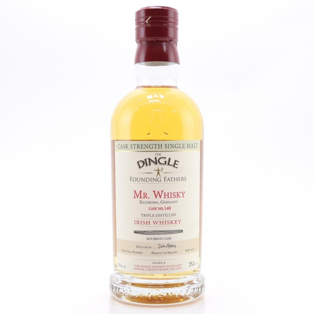 Dingle Irish Single Malt Cask Strength Founding Fathers / Mr Whisky