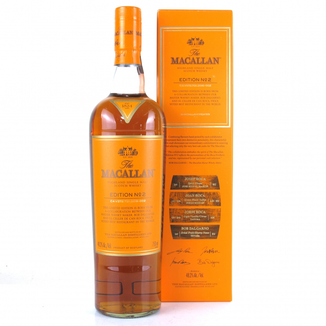 Macallan Edition No 2 75cl / US Import