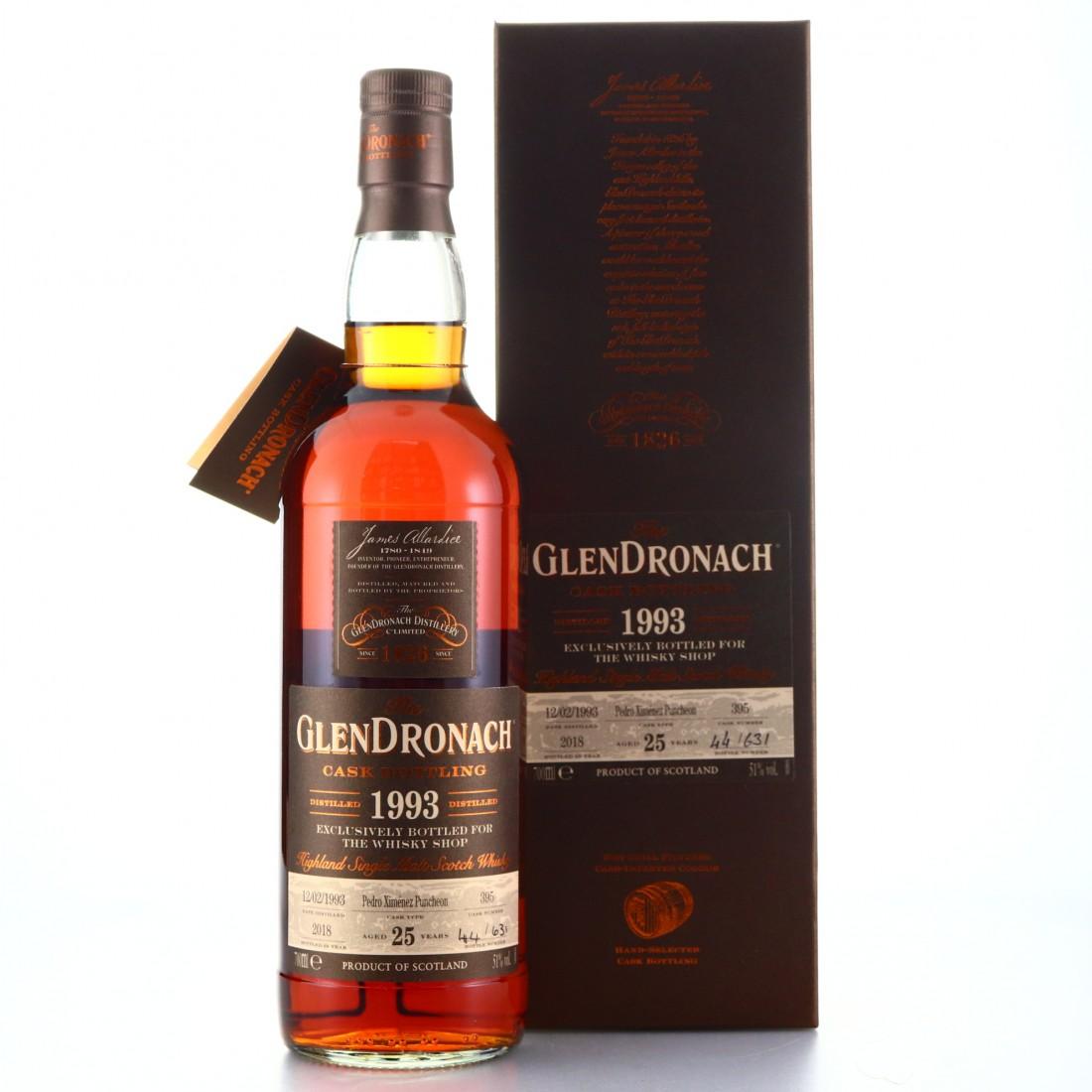 Glendronach 1993 Single PX Cask 25 Year Old #395 / TWS