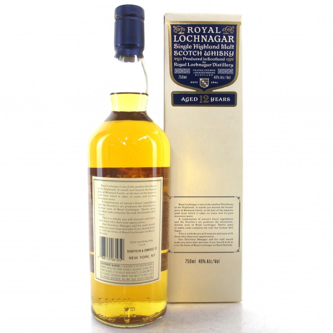 Royal Lochnagar 12 Year Old 75cl / US Import