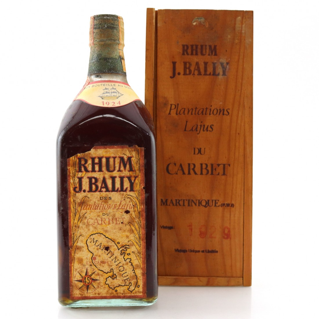 Rhum J. Bally 1924
