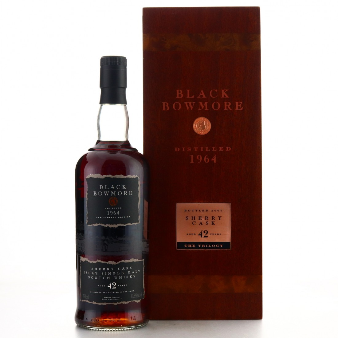 Bowmore 1964 Black Bowmore 42 Year Old 75cl / US Import