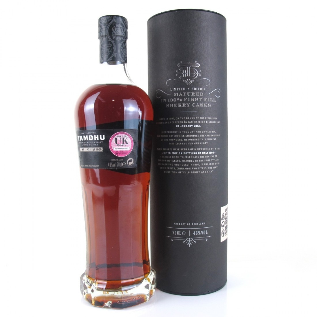 Tamdhu 10 Year Old Limited Edition / First Fill Sherry