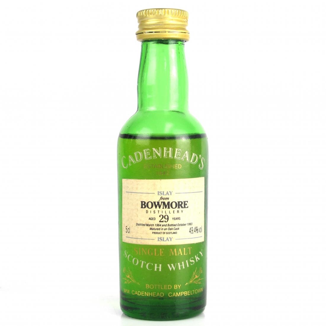 Bowmore 1964 Cadenhead's 29 Year Old 5cl
