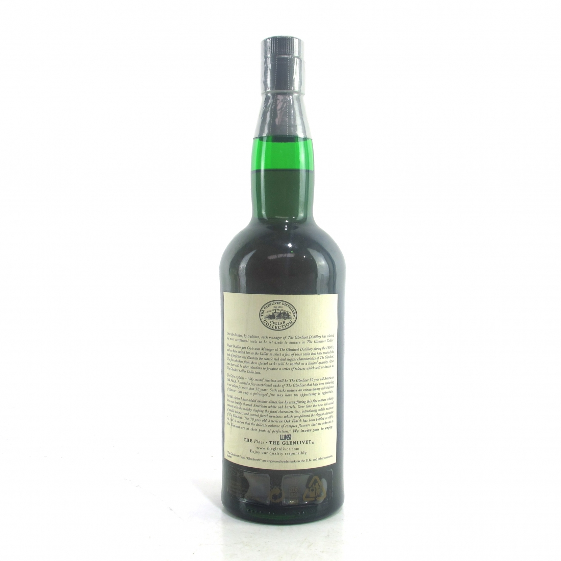 Glenlivet 30 Year Old Cellar Collection / American Oak Finish