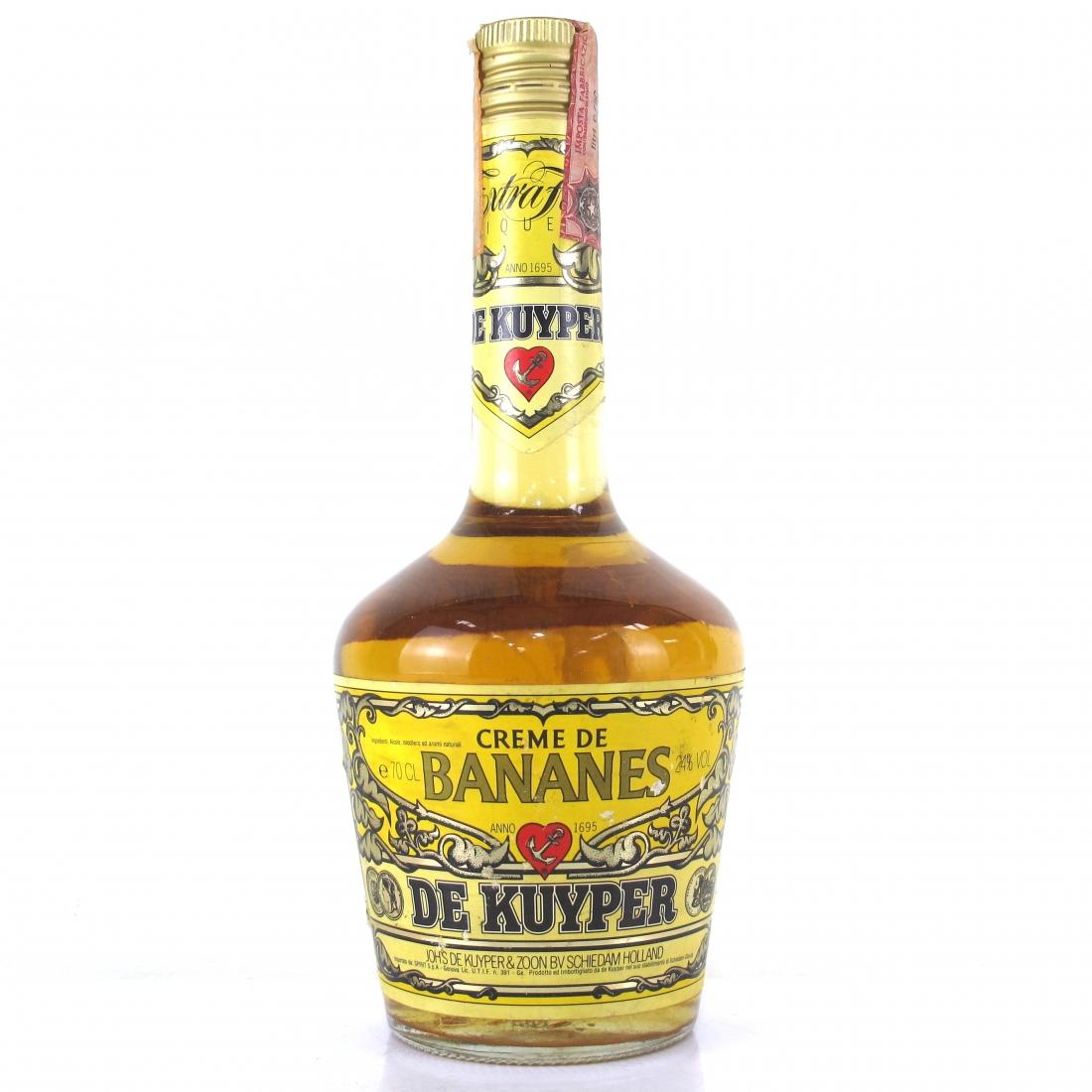 De Kuyper Creme De Banane 1980s