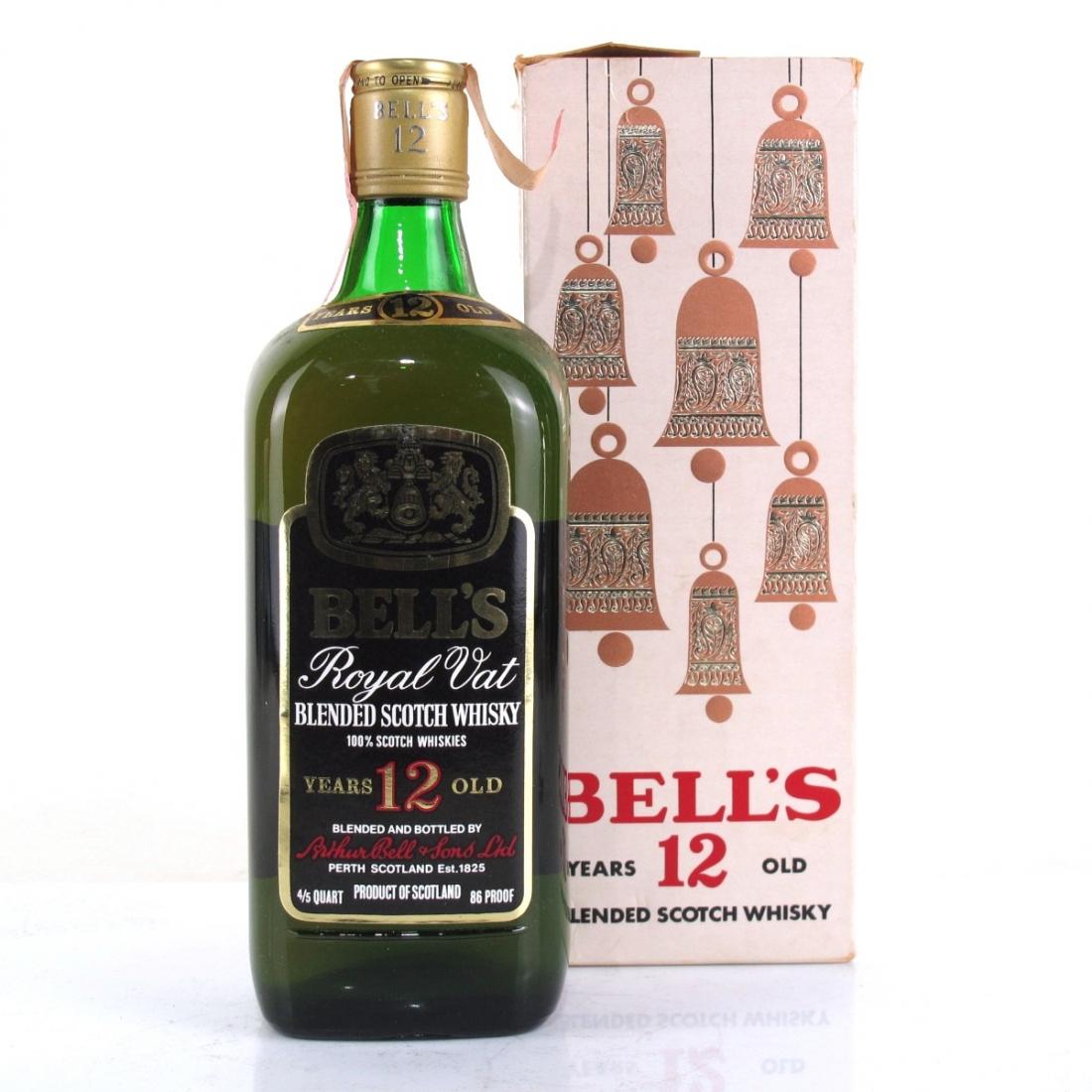 Bell's 12 Year Old De Luxe 1970s / Beam Import
