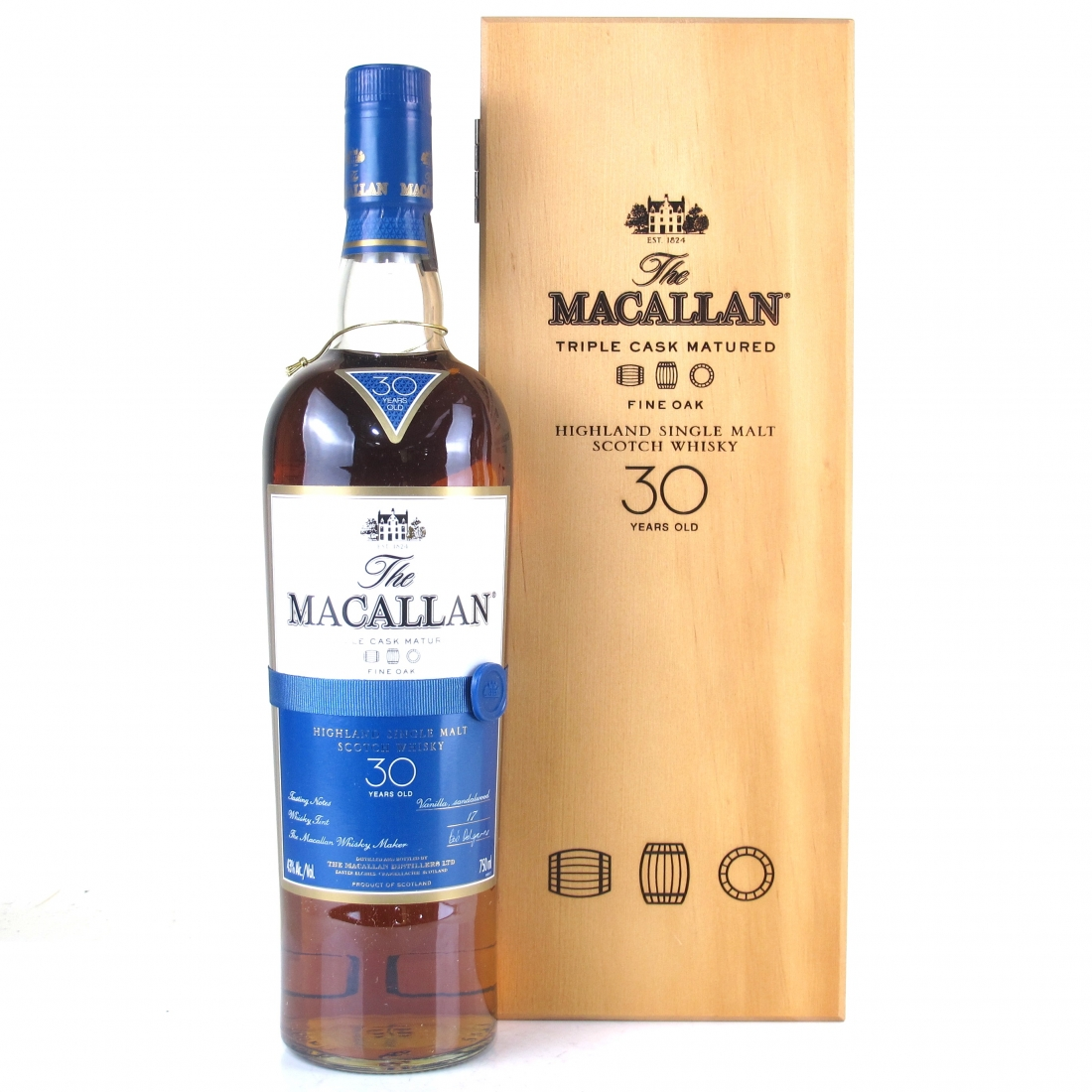 Macallan 30 Year Old Fine Oak 75cl / US Import