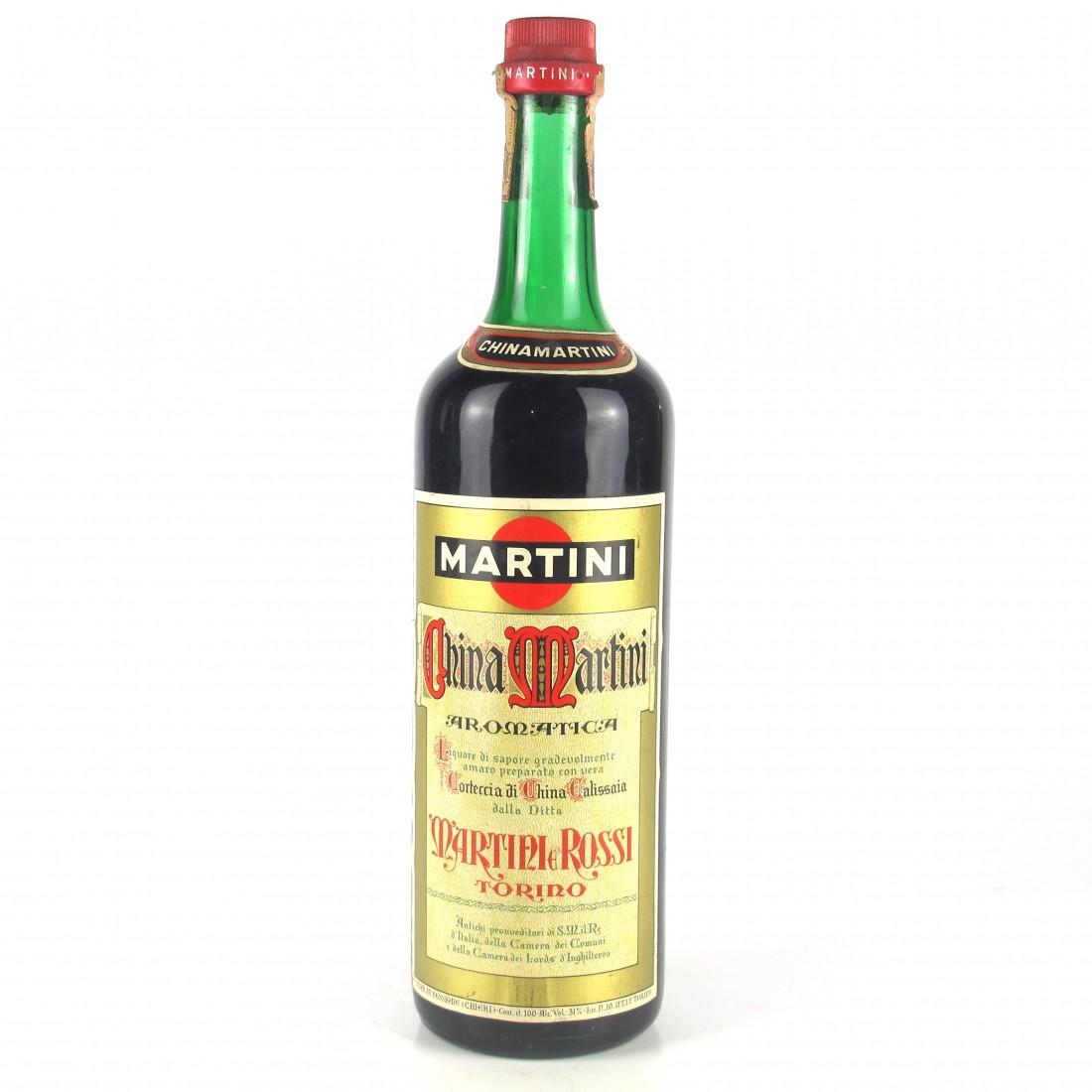 Martini and Rossi China Martini Aromatica 1 Litre 1960s