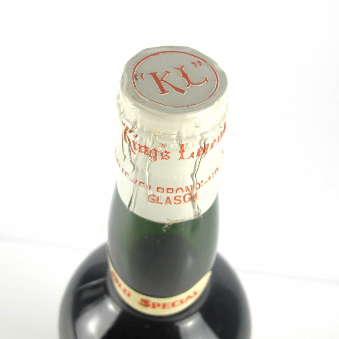Ainslie's King's Legend Finest Scotch Whisky 1950s