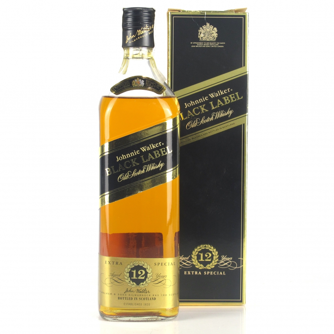 Johnnie Walker Black Label 12 Year Old