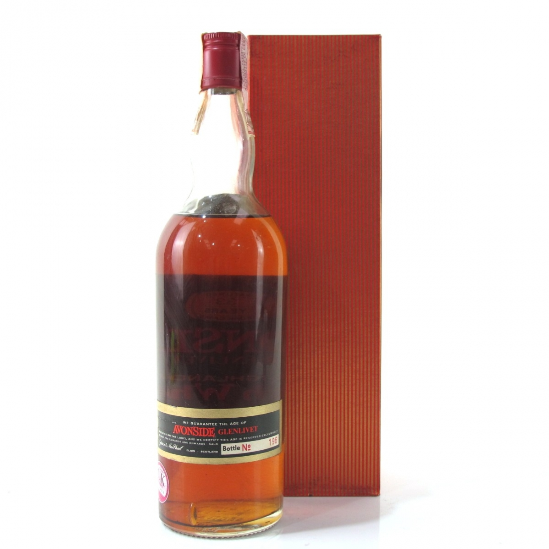 Avonside 1938 Gordon and MacPhail 33 Year Old