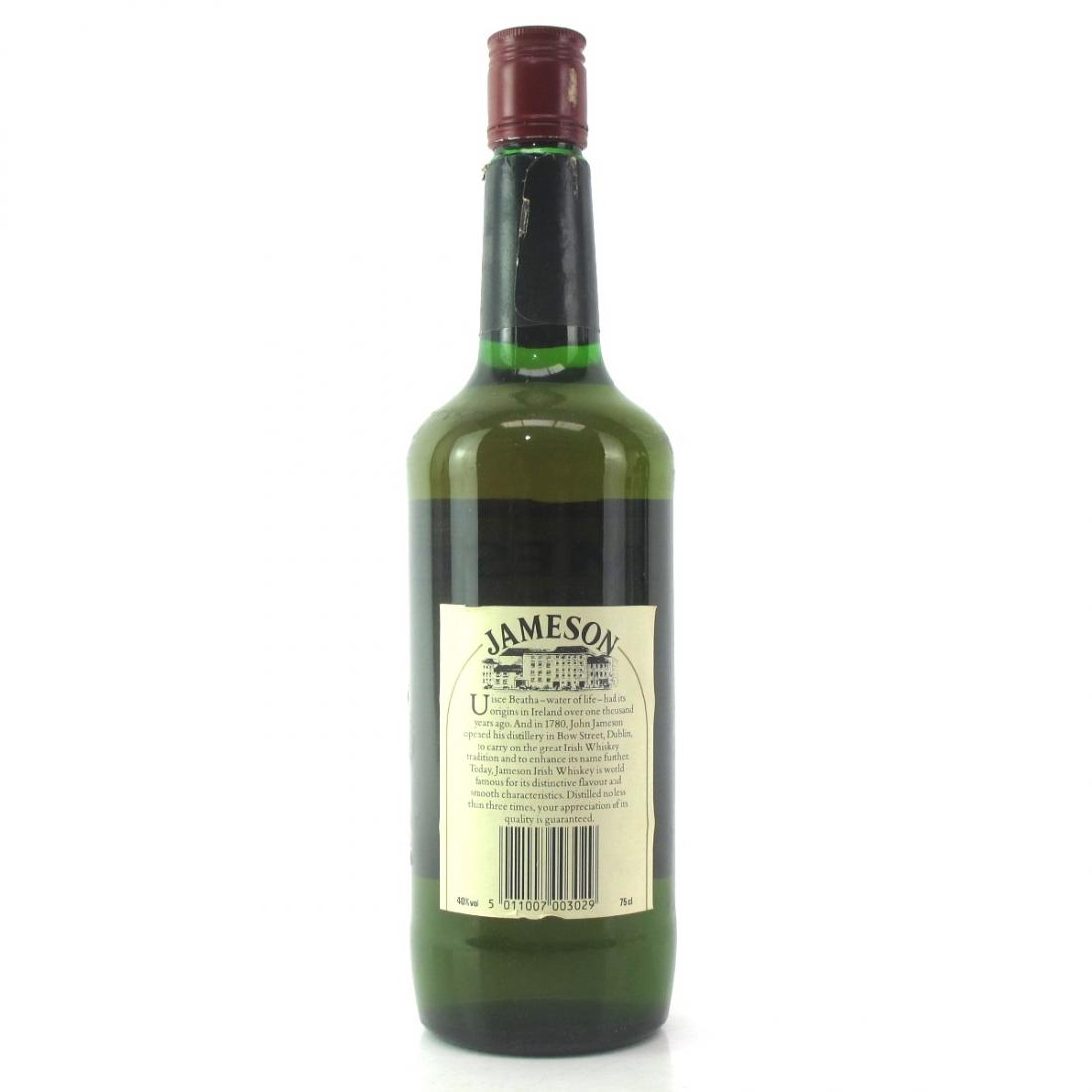 Jameson Irish Whiskey 1980s