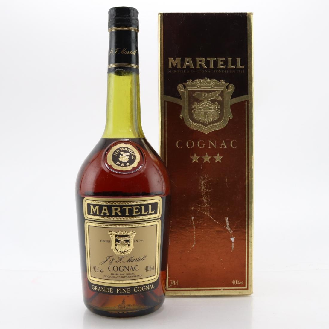 Martell Three Star Cognac
