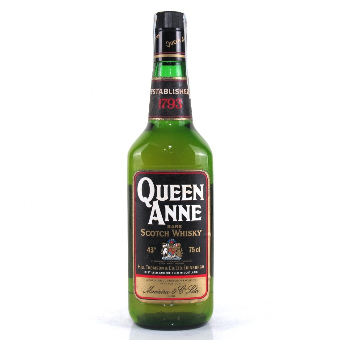Queen Anne Rare Scotch 1980s