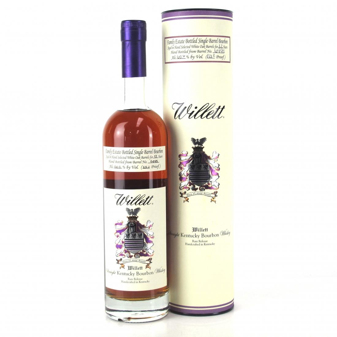 Willett Family Estate 12 Year Old Single Barrel Bourbon #6495