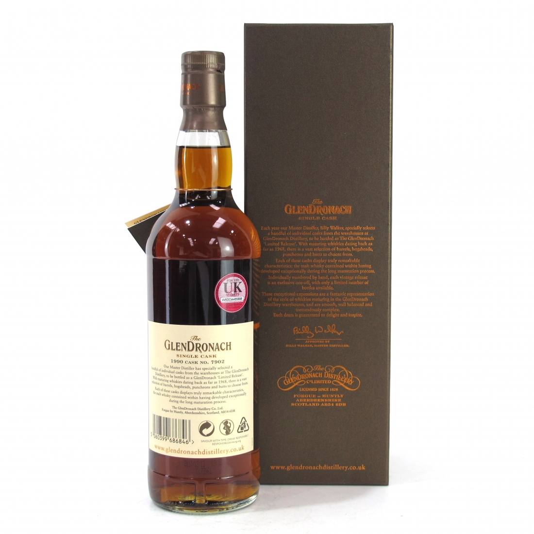 Glendronach 1990 Single Cask 27 Year Old #7902