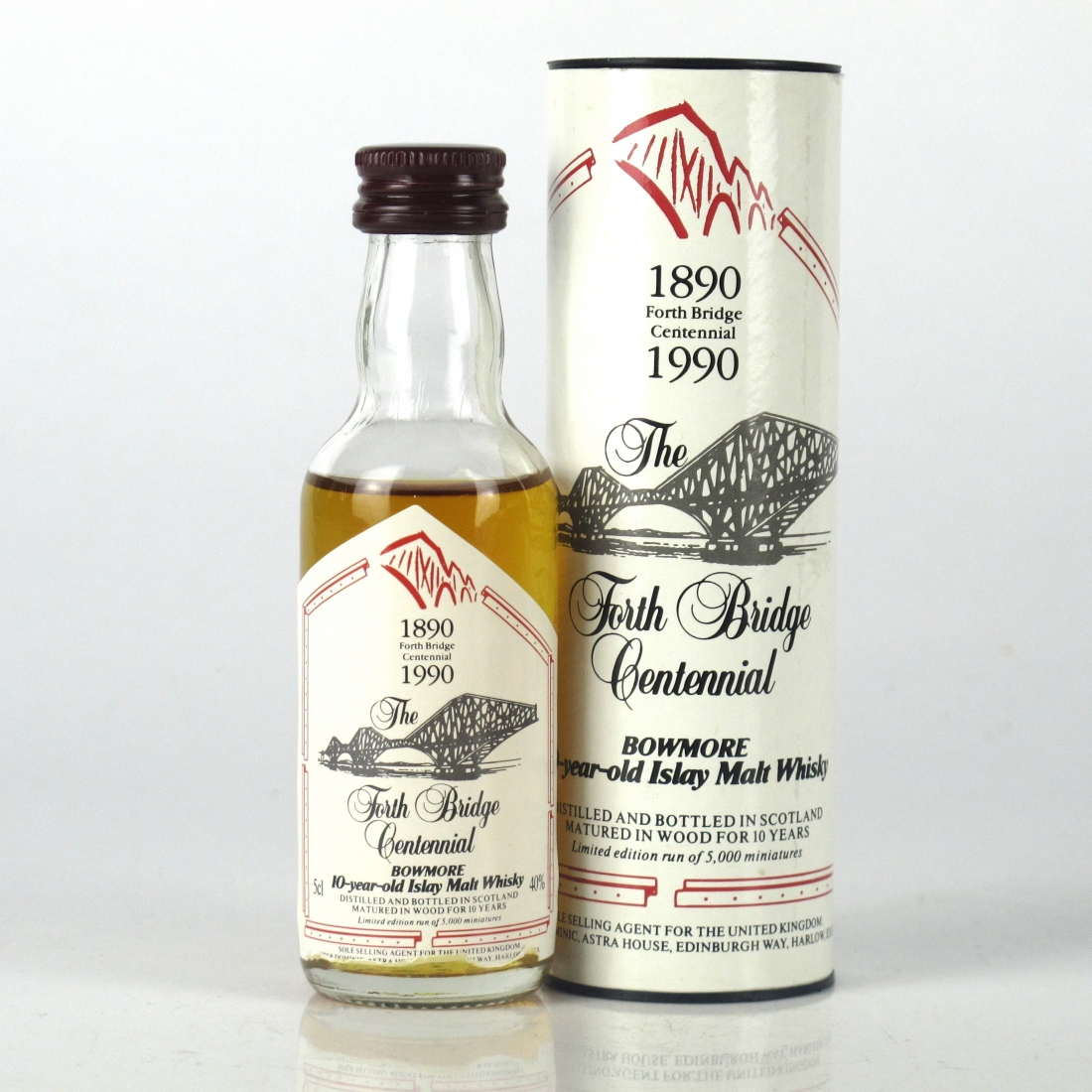 Bowmore Forth Bridge Centennial 10 Year Old 5cl Miniature
